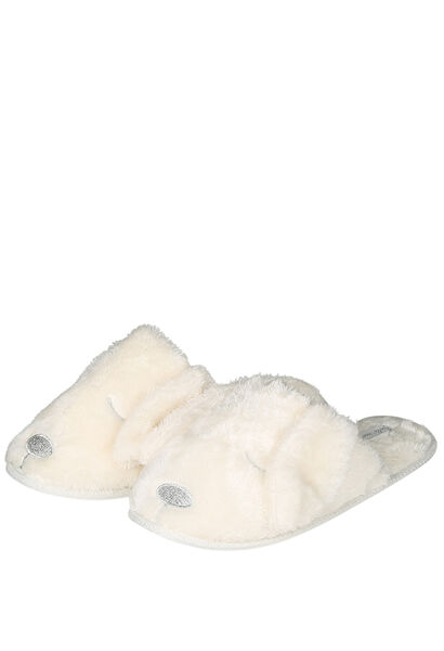 Hund-/Katzen-Pantoffeln - naturfarben