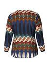 Bluse mit Ethno-Print, Multicolor