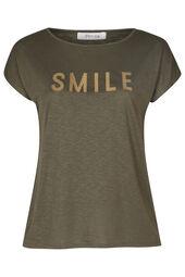 """T-Shirt mit Aufdruck """"Smile"""""""