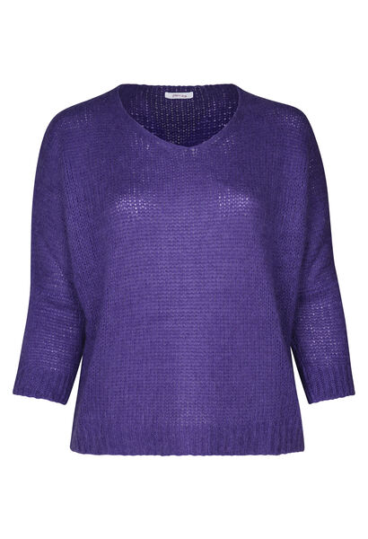 Pullover mit Oversize-Ärmeln - Lila