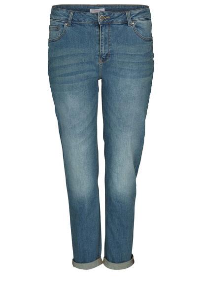 Mit Sternen bestickte Jeans - Denim